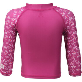 Color Kids Nammy UPF - T-shirt manches longues Enfant - rose